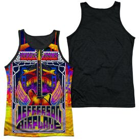 Jefferson Airplane San Francisco Adult Poly Tank Top Black Back