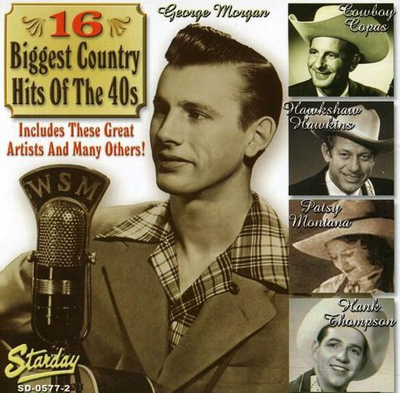 16 Biggest Country Hits 1940's / Various