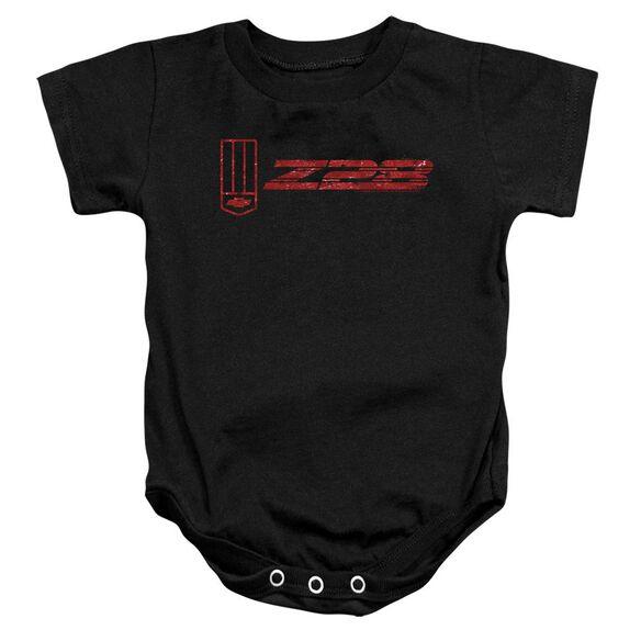 Chevrolet The Z28 Infant Snapsuit Black