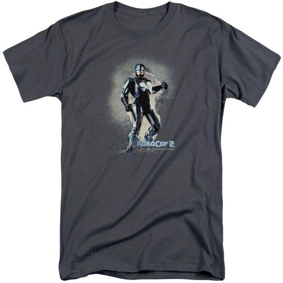 Robocop Break On Through Short Sleeve Adult Tall T-Shirt