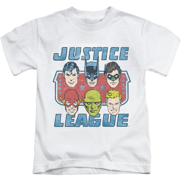 Dc Faces Of Justice Short Sleeve Juvenile T-Shirt