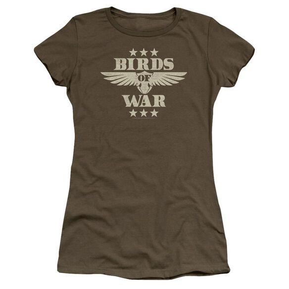 Its Always Sunny In Philadelphia Birds Of War Premium Bella Junior Sheer Jersey Military