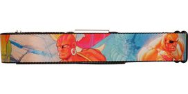 Street Fighter 2 Characters Seatbelt Mesh Belt