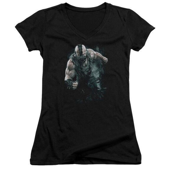 Dark Knight Rises Bane Rain Junior V Neck T-Shirt