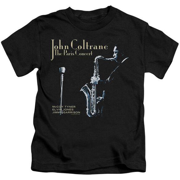 John Coltrane Paris Coltrane Short Sleeve Juvenile Black Md T-Shirt