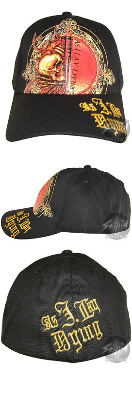 As I Lay Dying Skeleton Logo Hat