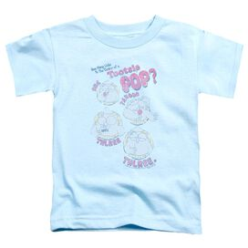Tootsie Roll Three Short Sleeve Toddler Tee Light Blue Sm T-Shirt