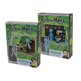 Rick and Morty Micro Construction Playset