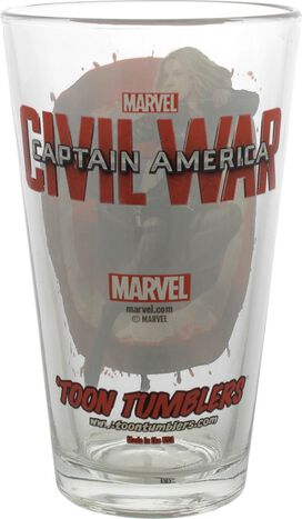 Captain America Civil War Agent 13 TT Pint Glass
