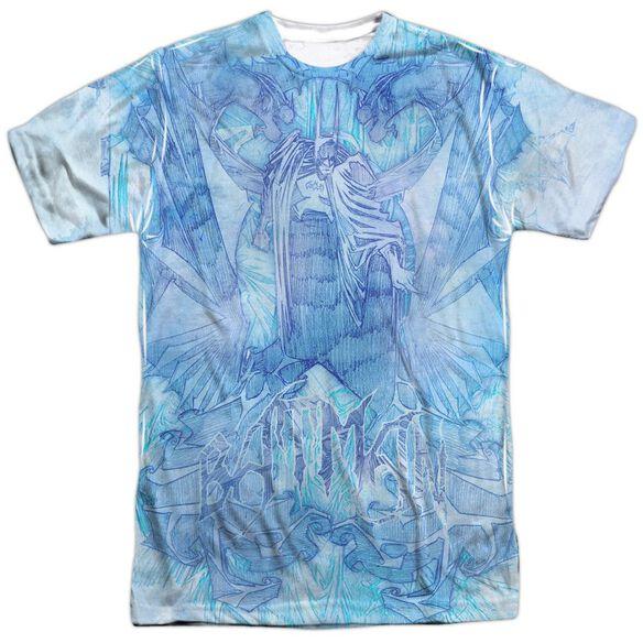 Batman Brooding Short Sleeve Adult Poly Crew T-Shirt
