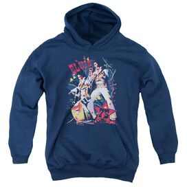 Elvis Presley Eagle Elvis-youth Pull-over Hoodie