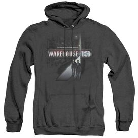 Warehouse 13 The Unknown - Adult Heather Hoodie - Black