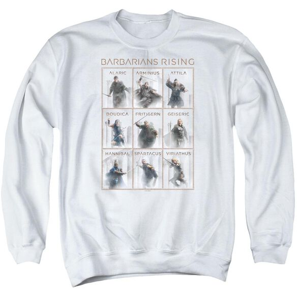 Barbarians Rising Nine Adult Crewneck Sweatshirt