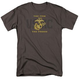 Us Marine Corps Split Tag Short Sleeve Adult T-Shirt