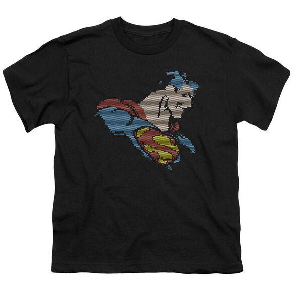 Dc Lite Brite Superman Short Sleeve Youth T-Shirt