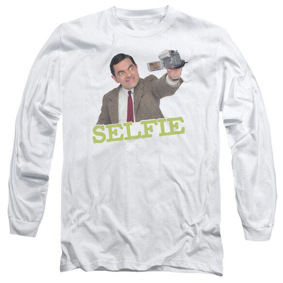 Mr Bean Selfie Long Sleeve Adult T-Shirt
