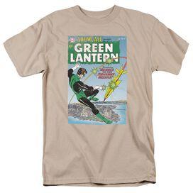 GREEN LANTERN MENACE MISSLE - S/S ADULT 18/1 - ROYAL T-Shirt
