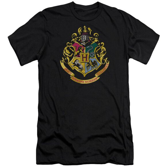 Harry Potter Hogwarts Crest Hbo Short Sleeve Adult T-Shirt