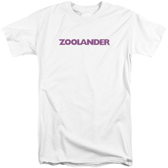 Zoolander Logo Short Sleeve Adult Tall T-Shirt