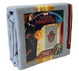 Captain Marvel Power Up Sweatshirt Throw