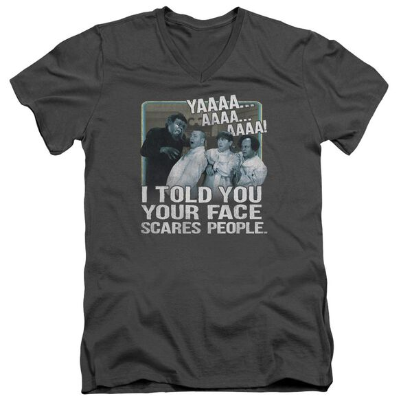 THREE STOOGE CARES T-Shirt