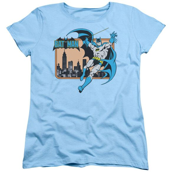 Dc Batman In The City Short Sleeve Womens Tee Light T-Shirt