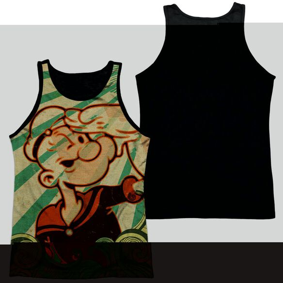 Popeye Traveling Man-adult Poly Tank Top
