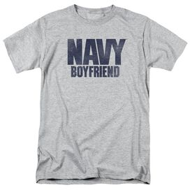 Navy Boyfriend Short Sleeve Adult Athletic T-Shirt