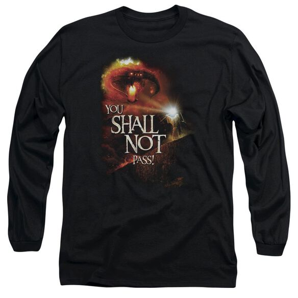 Lor You Shall Not Pass Long Sleeve Adult T-Shirt