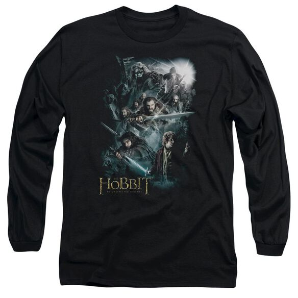 The Hobbit Epic Adventure Long Sleeve Adult T-Shirt