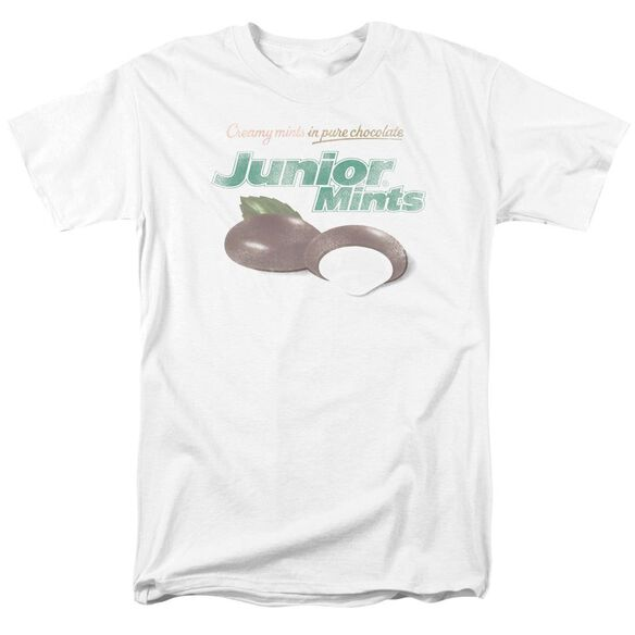 Tootsie Roll Junior Mints Logo Short Sleeve Adult T-Shirt