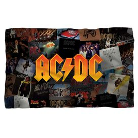 Acdc Albums Fleece Blanket