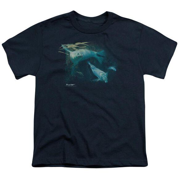 Wildlife Kelp Patrol Short Sleeve Youth T-Shirt