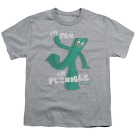 Gumby Flex Short Sleeve Youth Athletic T-Shirt