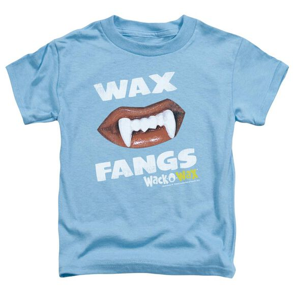 Dubble Bubble Wax Fangs Short Sleeve Toddler Tee Carolina Blue Md T-Shirt