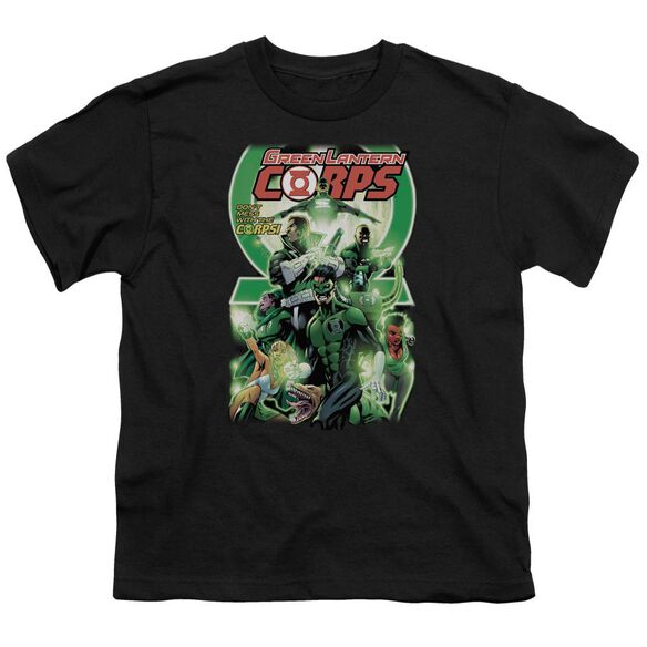 Green Lantern Gl Corps #25 Cover Short Sleeve Youth T-Shirt