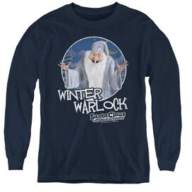Santa Claus Is Comin To Town Winter Warlock-youth Long