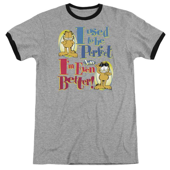 Garfield Even Better - Adult Ringer - Heather/black