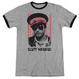 Scott Weiland Black Hat Adult Ringer Heather Black