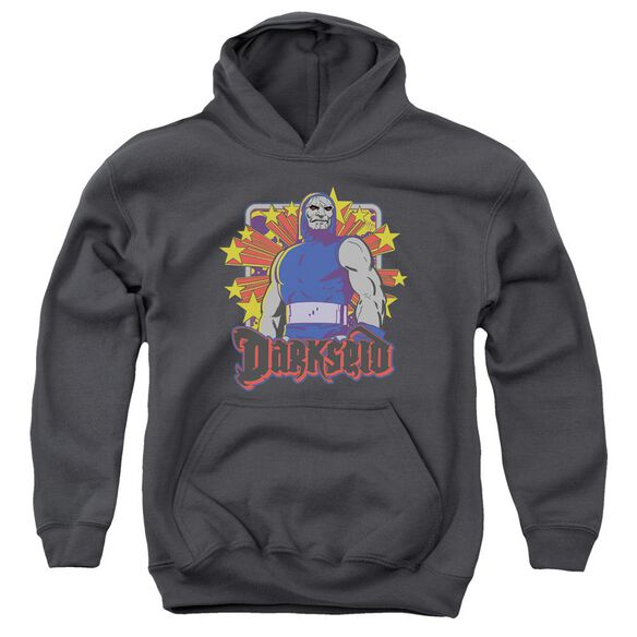 Dc Darkseid Stars Youth Pull Over Hoodie