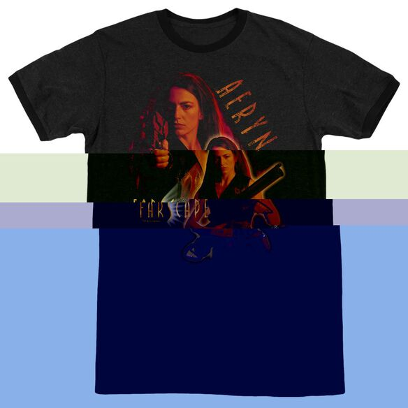 Farscape Aeryn - Adult Heather Ringer - Black