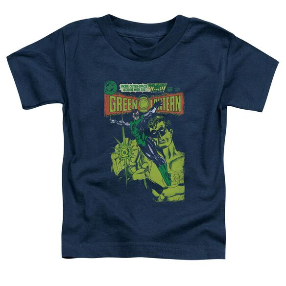 Green Lantern Vintage Cover Short Sleeve Toddler Tee Navy Sm T-Shirt