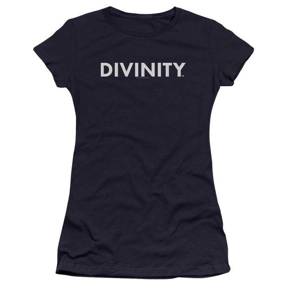 Valiant Divinity Logo Premium Bella Junior Sheer Jersey