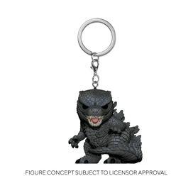 Funko Pop! Keychain: Godzilla vs Kong- Godzilla