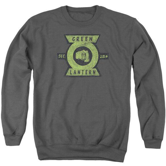 Green Lantern Section Adult Crewneck Sweatshirt