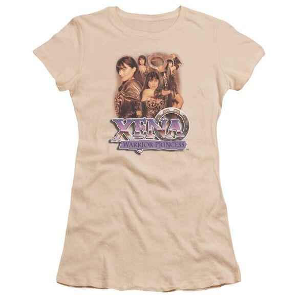 Xena Princess Collage Premium Bella Junior Sheer Jersey