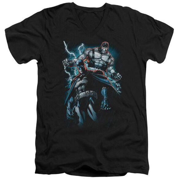 Batman Evil Rising Short Sleeve Adult V Neck T-Shirt