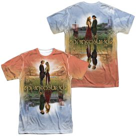Princess Bride Poster Sub (Front Back Print) Short Sleeve Adult Poly Crew T-Shirt