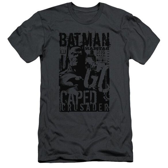 Batman Caped Crusader Short Sleeve Adult T-Shirt