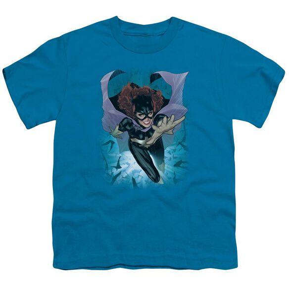 Jla Batgirl #1 Short Sleeve Youth T-Shirt